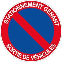 Panneau Stationnement Gênant
